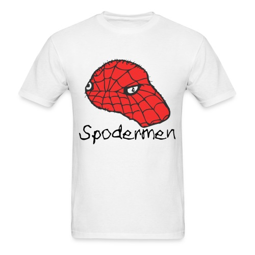 SPODERMEN T-Shirt [Black Text] - Men's T-Shirt