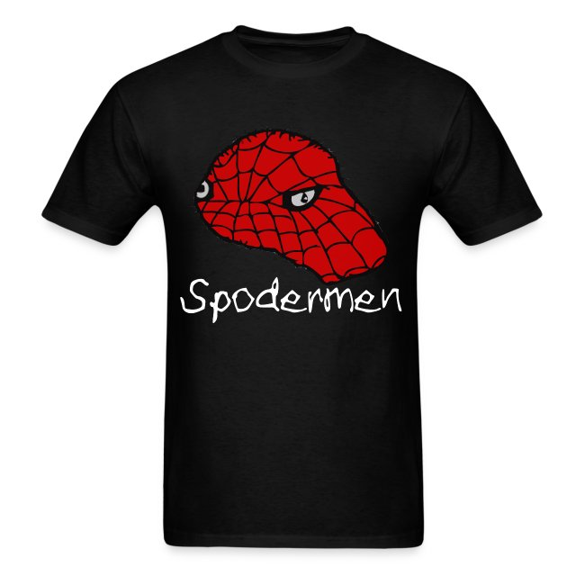 SPODERMEN T-Shirt [White Text]