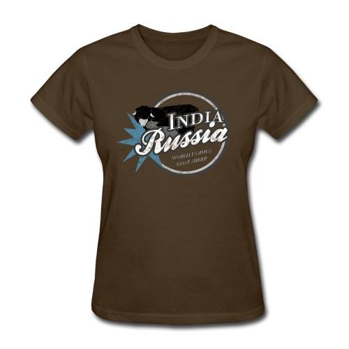 India Russia World Famous Goat Sheep - Women's T-Shirt