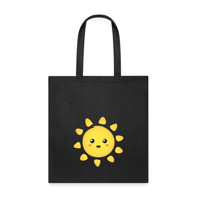 d6e6bc6448ef Rusty Doodle | cute and happy sunshine - Tote Bag