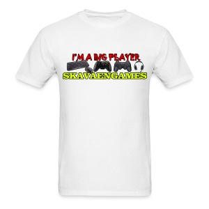 Skavaengames T-Shirt - I'm a big player - Men's T-Shirt