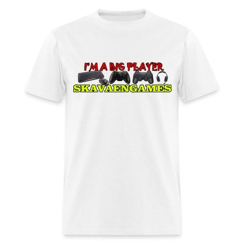 Skavaengames T-Shirt - I'm a big player - Men's T-Shirt