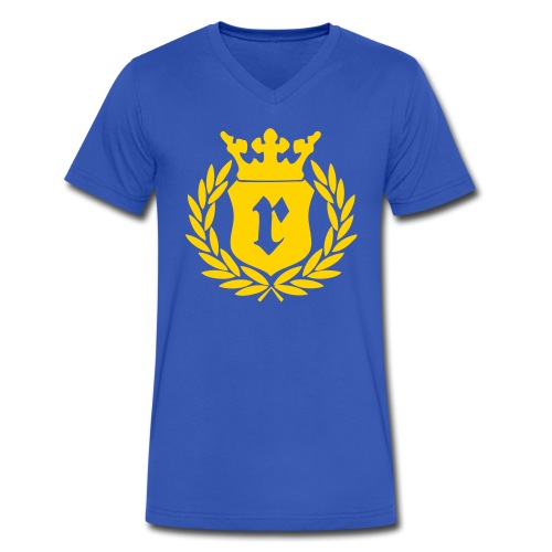 Mens V Neck Tee - Men's V-Neck T-Shirt by Canvas