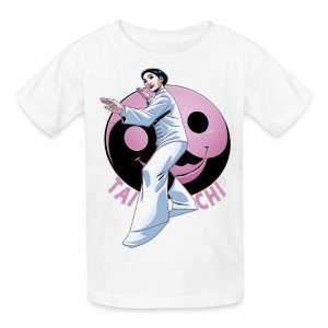 Kids' T-Shirt - Tai Chi Yin and Yang Inspired by Nancy Hellman and completed by Artist Eryck Webb.