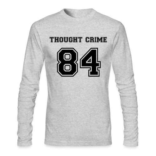 Thought Crime - Men's Long Sleeve T-Shirt by Next Level
