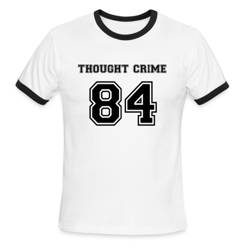 Thought Crime - Men's Ringer T-Shirt
