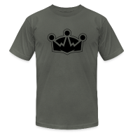 T-Shirts ~ Men's T-Shirt by American Apparel ~ The Crown - Men's AA