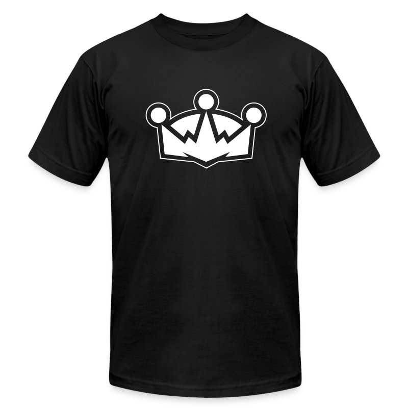 The Crown - Men's AA - Men's T-Shirt by American Apparel
