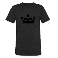 T-Shirts ~ Unisex Tri-Blend T-Shirt ~ The Crown - Men's Vintage