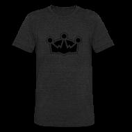 T-Shirts ~ Unisex Tri-Blend T-Shirt ~ The Crown - Men's Vintage