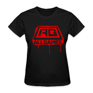 Women's T-Shirts ~ Women's T-Shirt ~ AllGames Women's Spraypaint