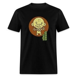 HTF - Buddhist Monkey - Remain Calm - Men's T-Shirt