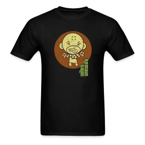 HTF - Buddhist Monkey - Remain Calm - Men's T-Shirt