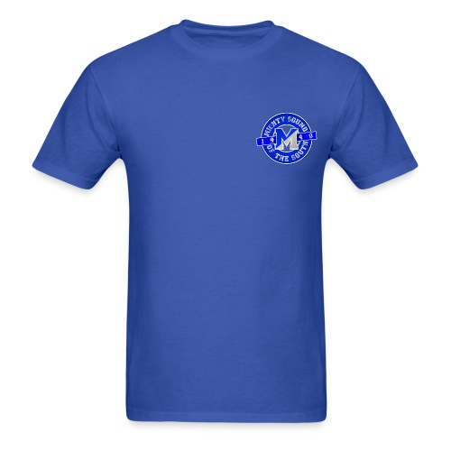 True Blue Mighty One - Men's T-Shirt
