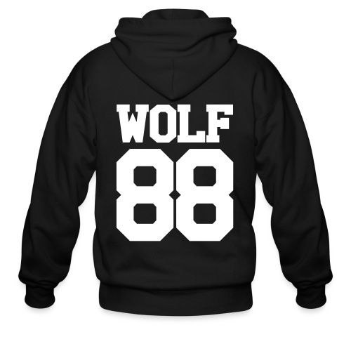 Suho Wolf Team Double Sided - Men's Zip Hoodie