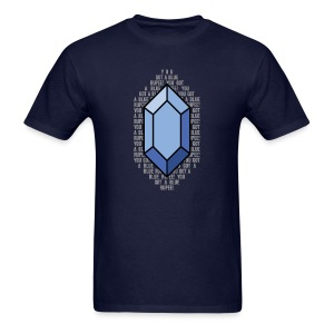 Blue Rupee (Men's) - Men's T-Shirt