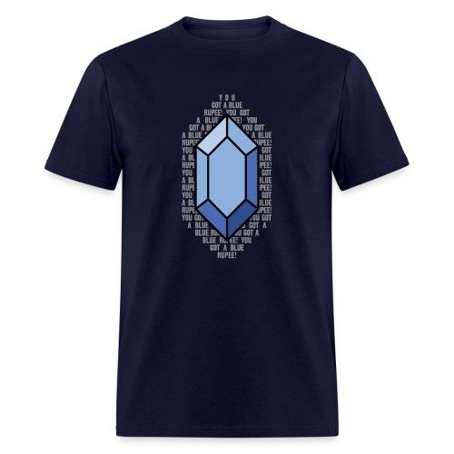 Blue Rupee (Men's) - Men's T-Shirt