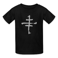 Kids' Shirts ~ Kids' T-Shirt ~ Cruxshadows Kids Cross T