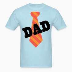 Dad Father's Day Mens T-shirt (Necktie)