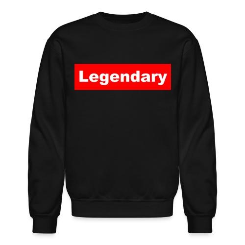 Legendary Black Crewneck - Crewneck Sweatshirt