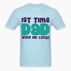1st Time Dad Mens T-shirt (Funny)