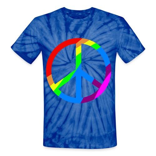 Tie Dye Hippie Tee - Unisex Tie Dye T-Shirt