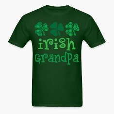 Irish Grandpa Mens T-shirt