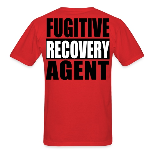 SOUTHERN BOUNTY FUGITIVE RECOVERY AGENT SHIRT - Men's T-Shirt