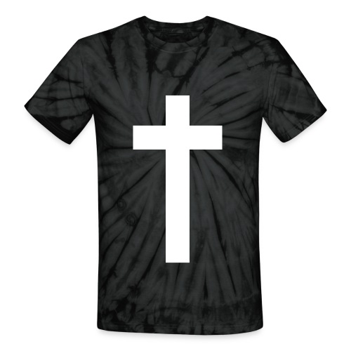 The Cross. - Unisex Tie Dye T-Shirt
