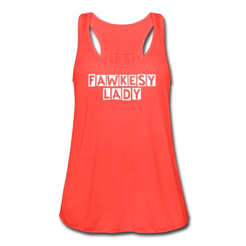 Fawkesy Lady Swing Tank - Women's Flowy Tank Top by Bella