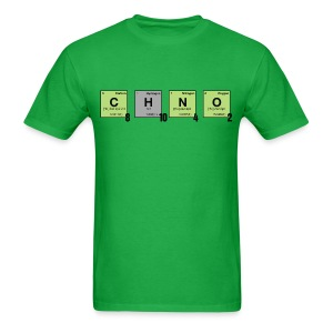 caffeine - Periodic Element Scramble - Men's T-Shirt