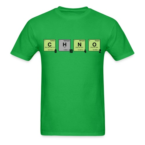 caffeine - Periodic Element Scramble - Men's T-Shirt