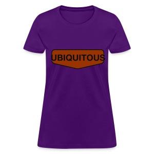 ubiquitous logo - Women's T-Shirt