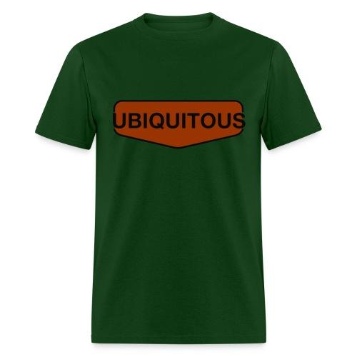 ubiquitous logo - Men's T-Shirt