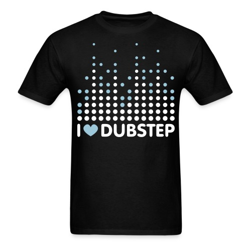 Famfrit I Love Dubstep Shirt - Men's T-Shirt