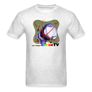 T-Shirts ~ Men's T-Shirt ~ R U ready for Color TV?