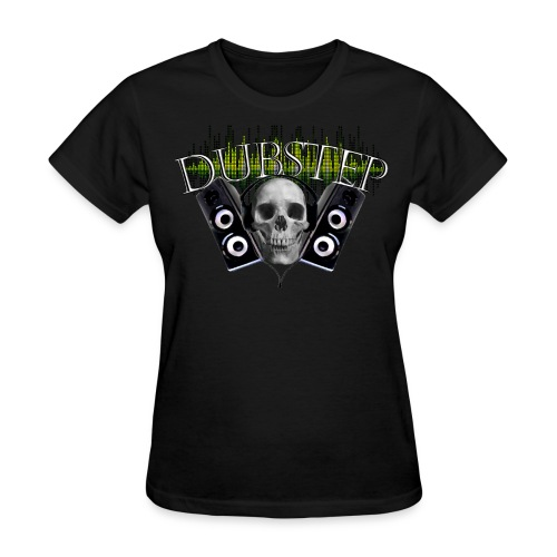 Famfrit Dubstep Skull Shirt - Women's T-Shirt
