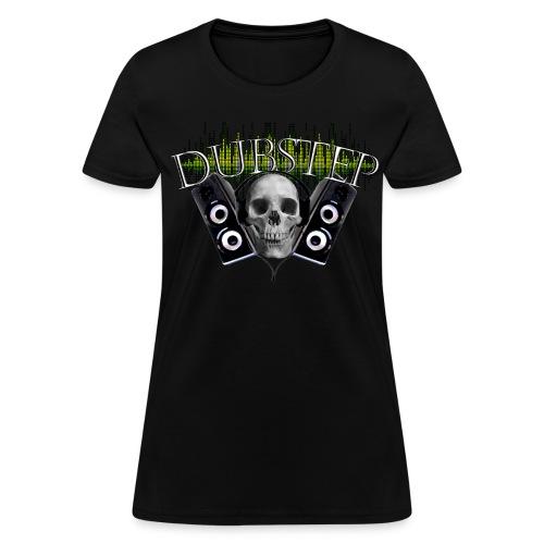 Famfrit Dubstep Skull Shirt - Women's T-Shirt