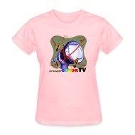 T-Shirts ~ Women's T-Shirt ~ R U ready for Color TV?