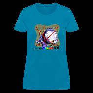 Women's T-Shirts ~ Women's T-Shirt ~ R U ready for Color TV?