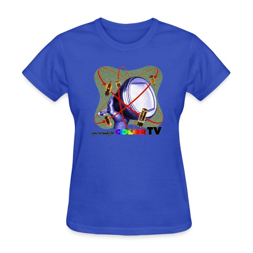 R U ready for Color TV? - Women's T-Shirt