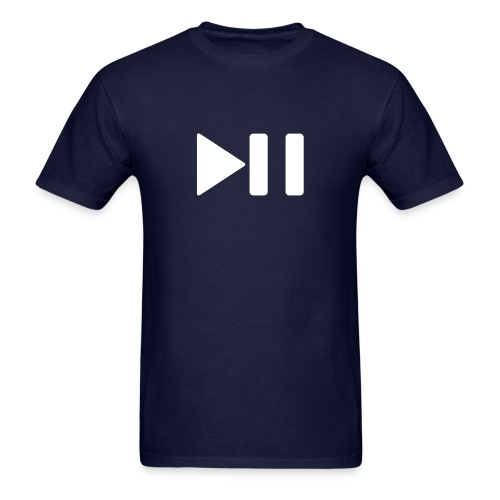 Play/Pause Tee - Men's T-Shirt