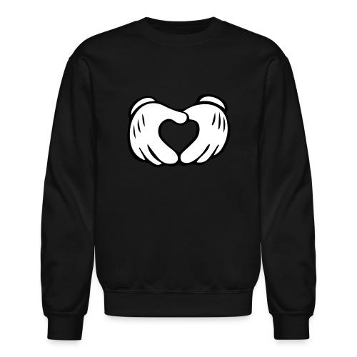 Hand Heart Crewneck - Crewneck Sweatshirt