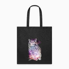 Cosmic Owl Bags & backpacks