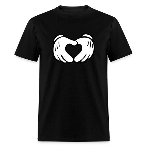Hand Heart Tee - Men's T-Shirt