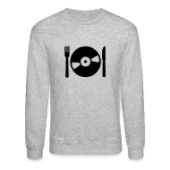 Long Sleeve Shirts ~ Crewneck Sweatshirt ~ DJ Food Crewneck