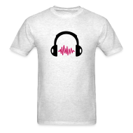 T-Shirts ~ Men's T-Shirt ~ Headphone Tee
