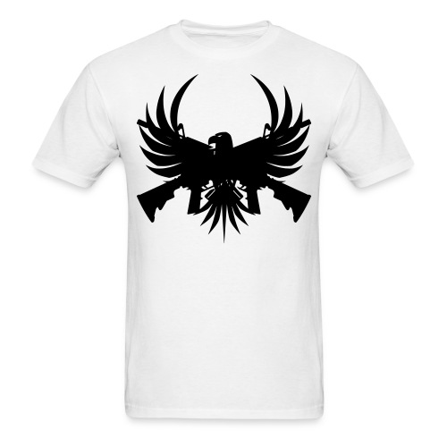 Eagle with guns - shirt (for men) - Men's T-Shirt