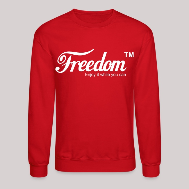 7ad4ba4f Averil Tees   Freedom Coca Cola Coke Parody Sweatshirt - Crewneck ...