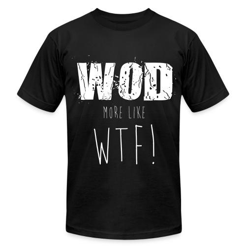 WOD WTF - Men's Fine Jersey T-Shirt